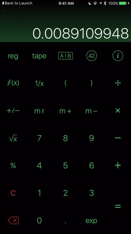 Customize your calculator