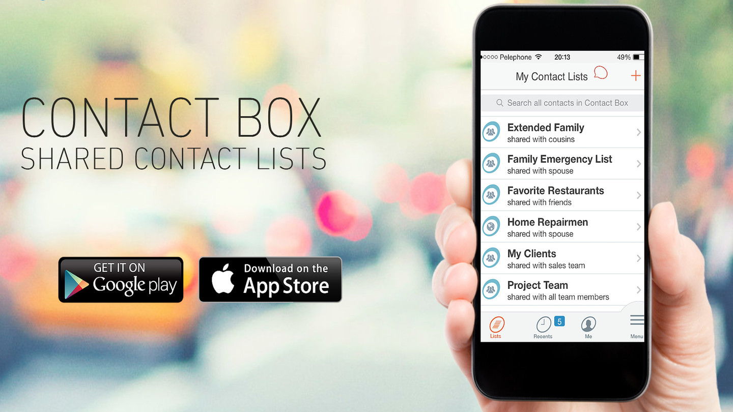 ContactBox - Shared Contact Lists
