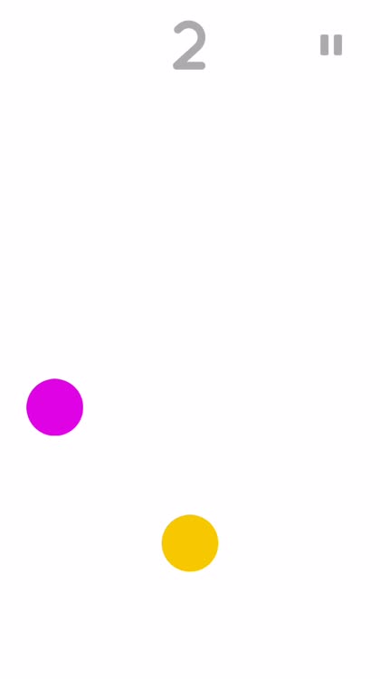 Just tap the dot
