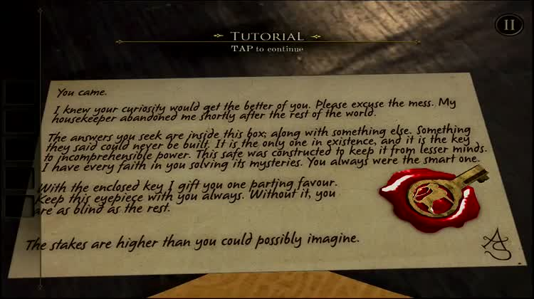 Tutorial - Use the found key