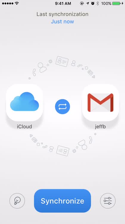 Synchronize Google and iCloud