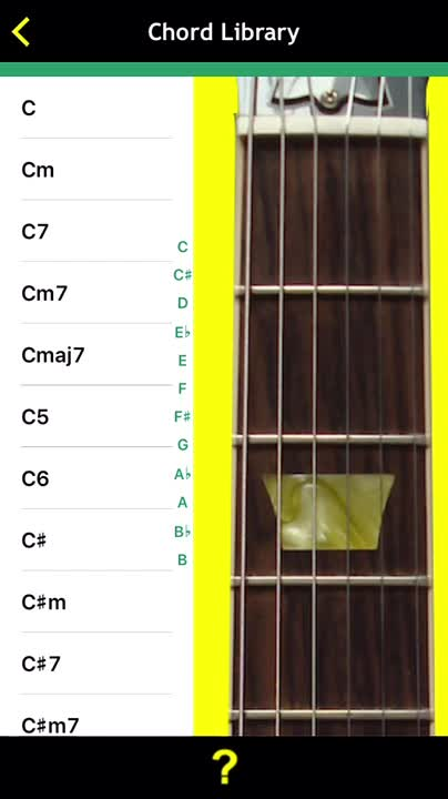 Chord Library and Tuner