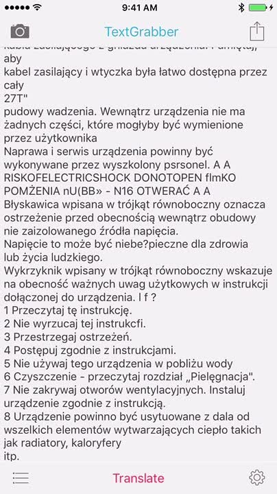Translate into 90 languages
