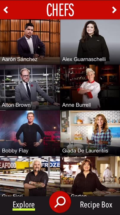 Cook with your favorite Food Network chefs