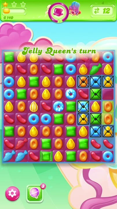 Play against  the Jelly Queen