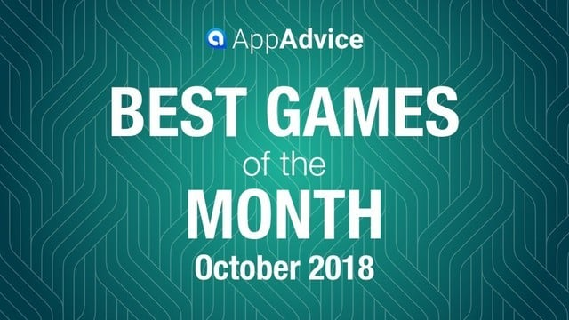 Best Games of the Month October 2018