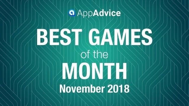 Best Games of November 2018
