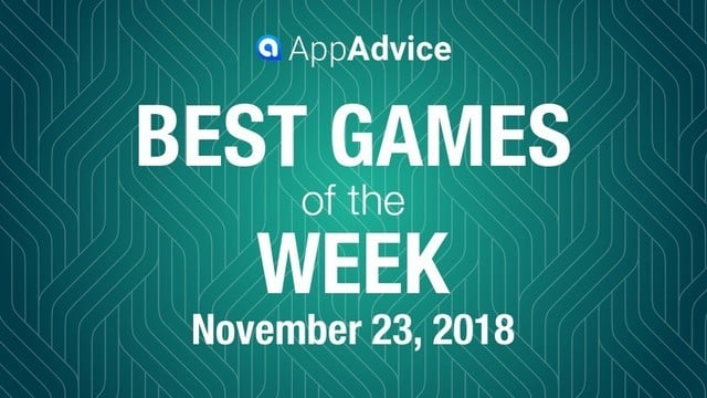 Best Games of the Week Nov. 23, 2018