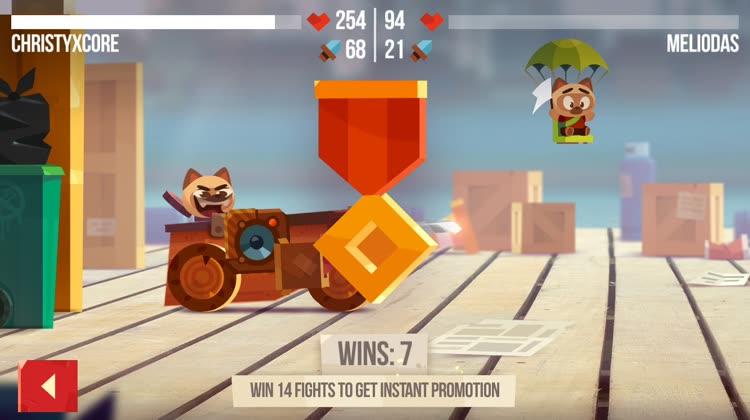 Crazy battles