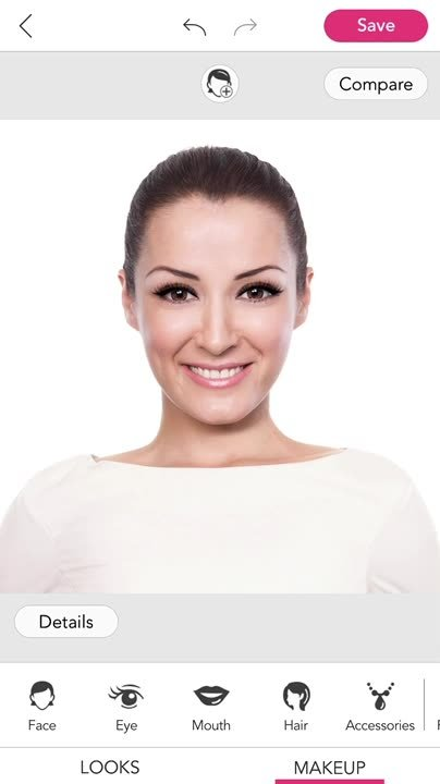 Apply Lipstick & Whiten Teeth