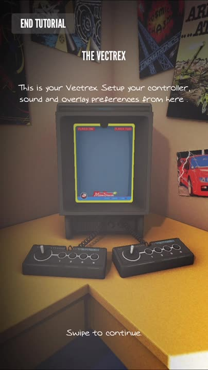 Vectrex games back to life