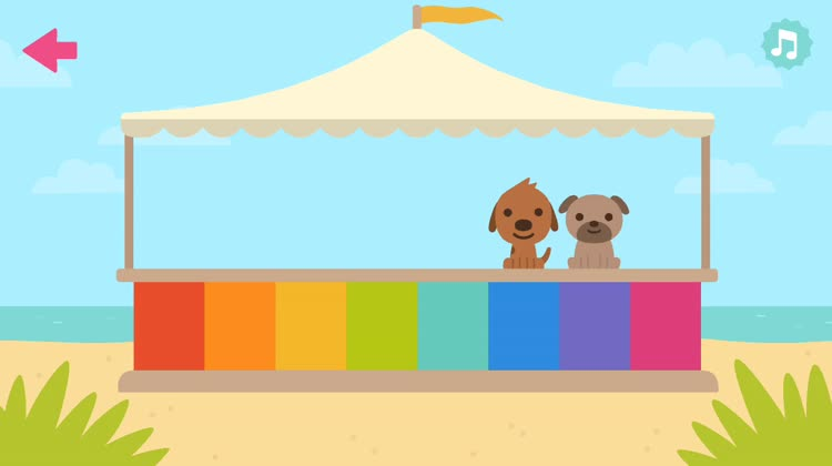 Play a Sago Mini Puppy Song