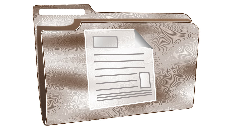 File Folder Document