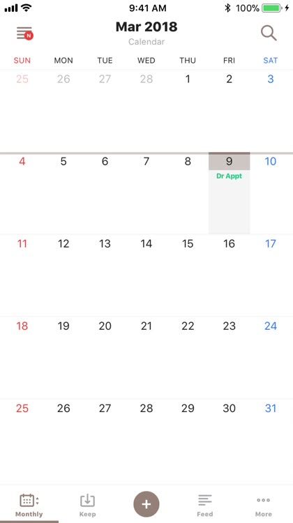TimeTree Shared Calendar