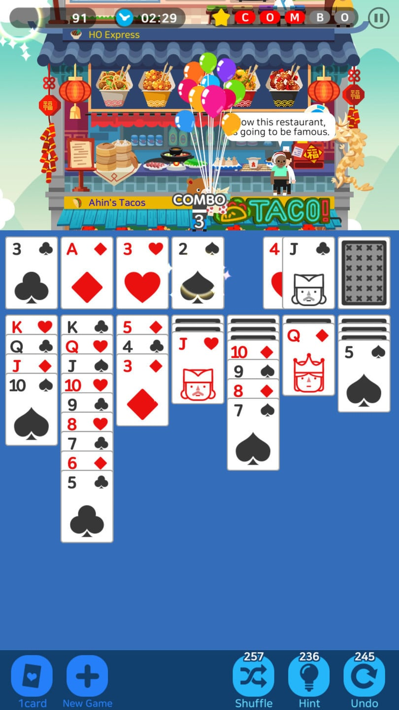 Solitaire Cooking Tower is a Tasty Game You'll Want to Check Out