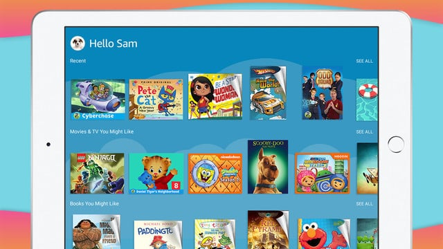 The Child-Focused Amazon FreeTime Unlimited Service Arrives on the App Store