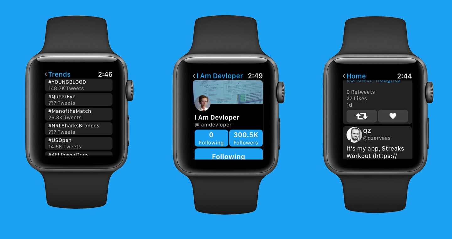 Chirp is Another Way to Get Your Twitter Fix on Apple Watch