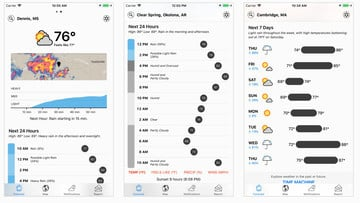 Popular Weather App Dark Sky Updated With a Unified Timeline, Revamped Design