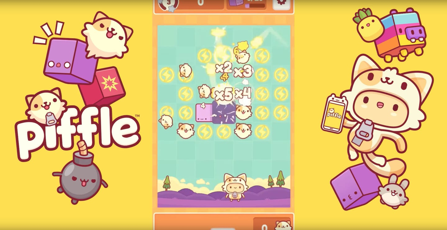 Piffle is an Fun Puzzle Game With Adorable Characters and Lots of Cats