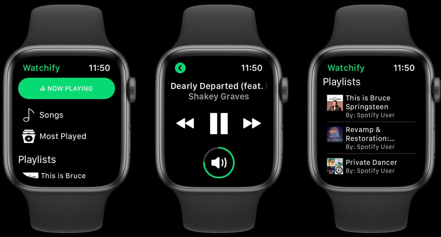 Control Spotify on Your iPhone With Watchify for Apple Watch