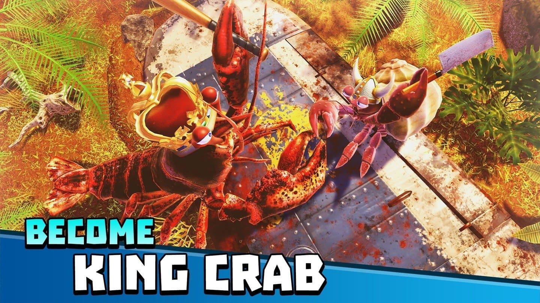 It's a Crustacean Battle Zone in King of Crabs