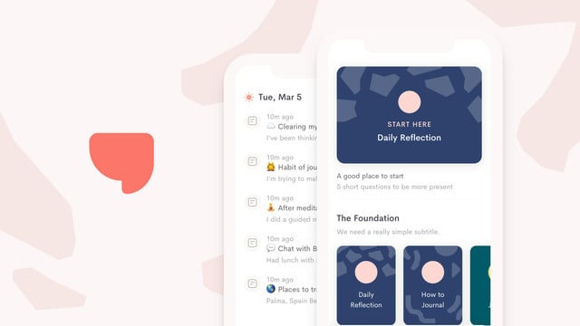 Jour is a Journaling App That Features Interactive Prompts to Help Record Thoughts