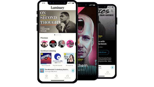 Luminary is a New Premium Podcast App Focusing on Exclusive Content