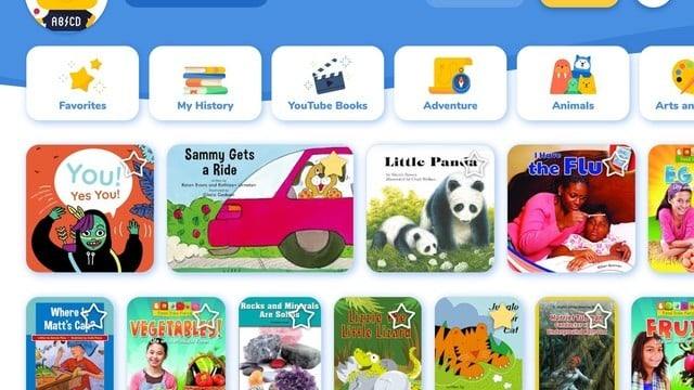 Rivet Features More Than 2,000 Free Books to Help Kids Learn How to Read