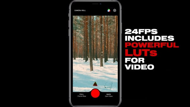 Video Editing App 24FPS Features Filters Inspired by Popular Movies