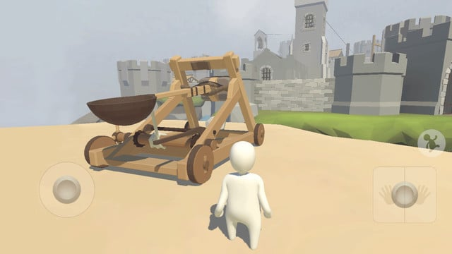 Standing Up Straight is a Challenge in Human: Fall Flat