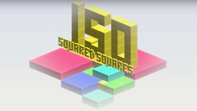 Train Your Spatial Vision While Playing Isometric Squared Squares
