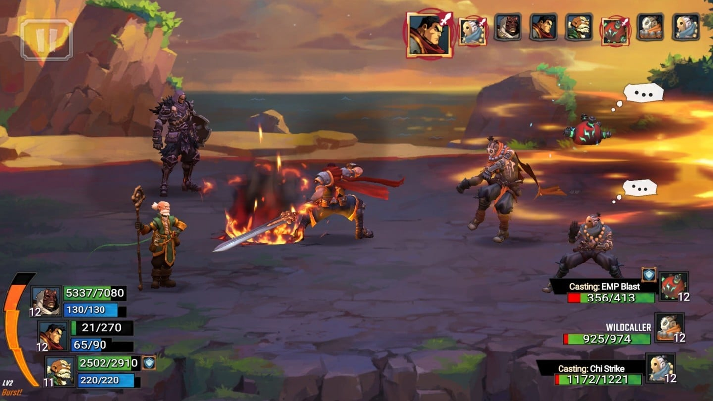 Battle Chasers: Nightwar is an RPG Inspired by Classic Console Titles