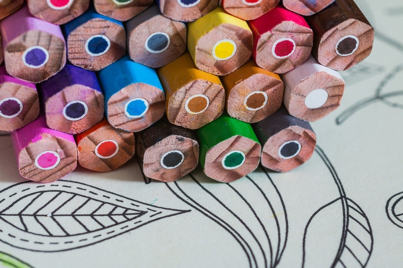 Coloring Book Pencils