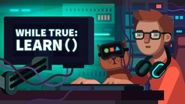 Cats, Coding and Puzzles Come Together in while True: learn ()