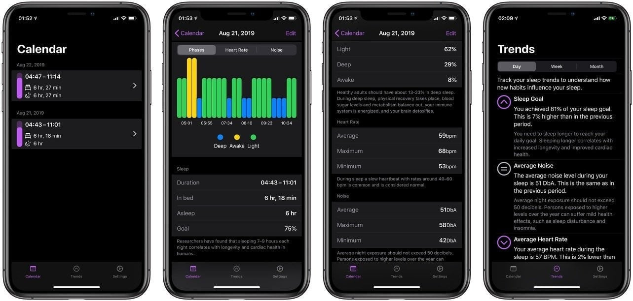 NapBot Uses Machine Learning on iOS 13, watchOS 6 to Better Track Your Sleep