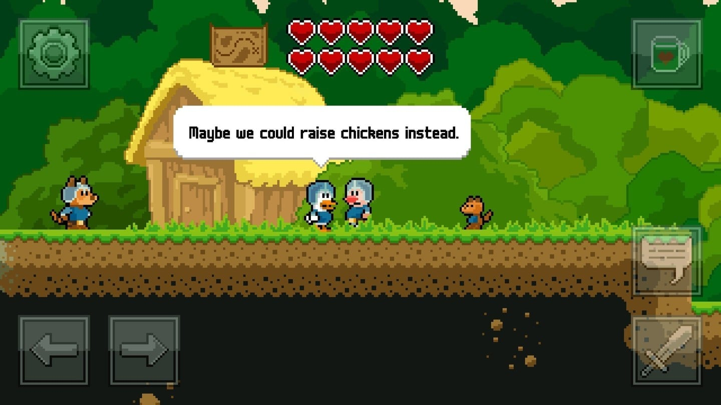 Leave the Farm and Head to the Dungeon in Cracked Crusaders