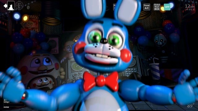 Create Your Own Five Night's at Freddy's Nightmare in Ultimate Custom Night