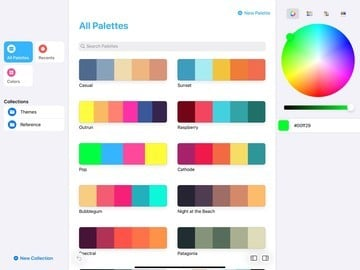 Build a Library of Color Palettes With the New App Pastel