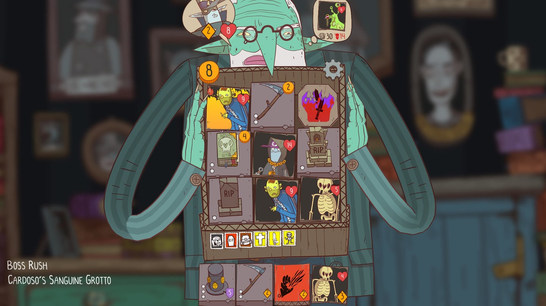 The Deckbuilding Roguelike Fun Continues in Meteorfall: Krumit's Tale