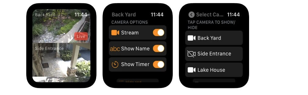 Stream Multiple HomeKit Cameras with CamPanes for Apple Watch
