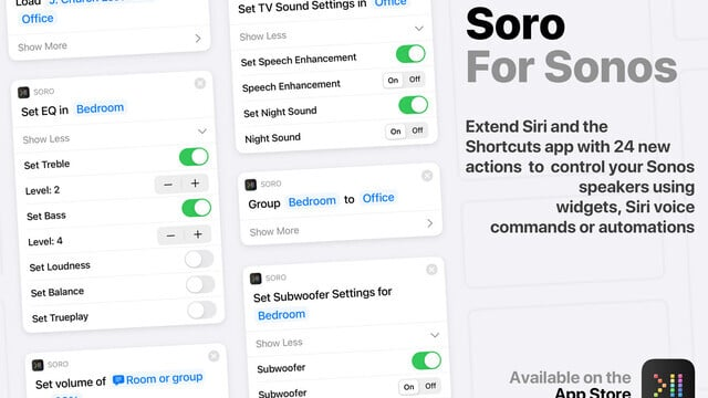 Soro Brings Siri and Shortcuts Support for Sonos Speakers