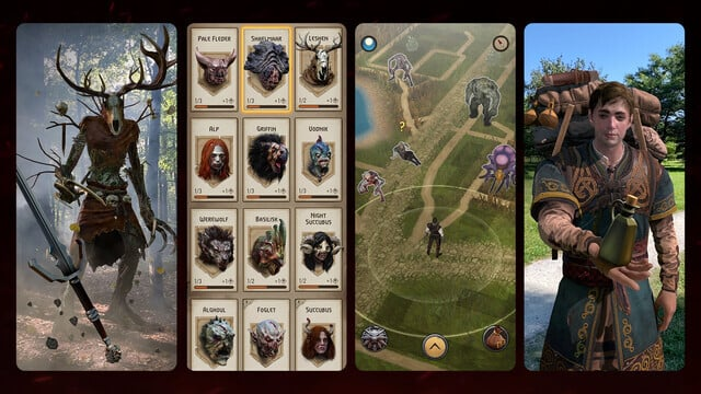 The Witcher: Monster Slayer is an RPG with an Augmented Reality Twist