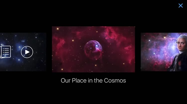 Enjoy Cinematic Tours of the Cosmos