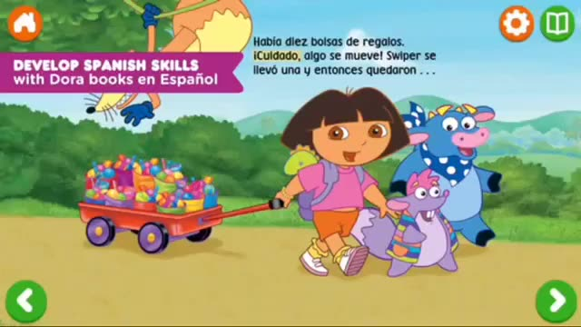 Spanish lessons with Dora