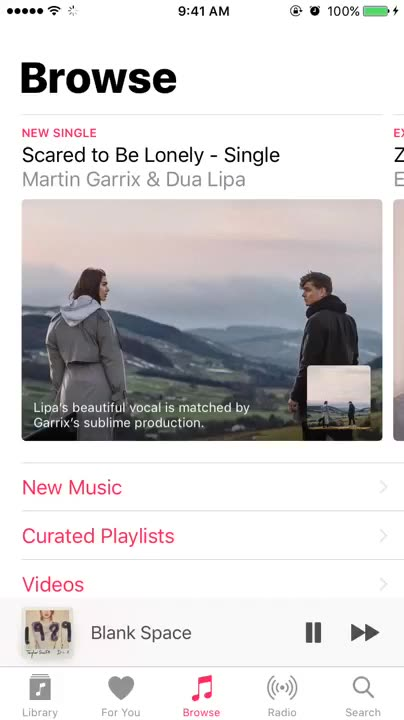 How to view Apple Music lyrics on the Now Playing screen