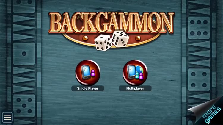 Play backgammon game