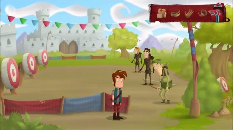 Robin Hood and the tournament