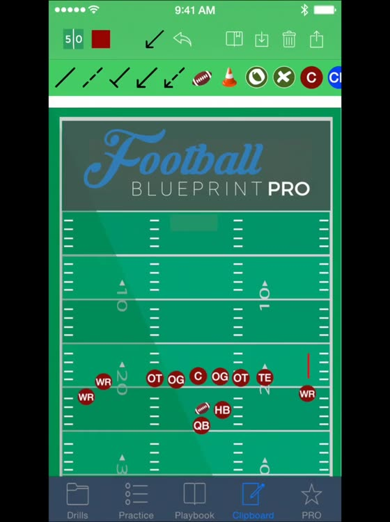 Football blueprint by knowledge spot inc app details malvernweather Choice Image