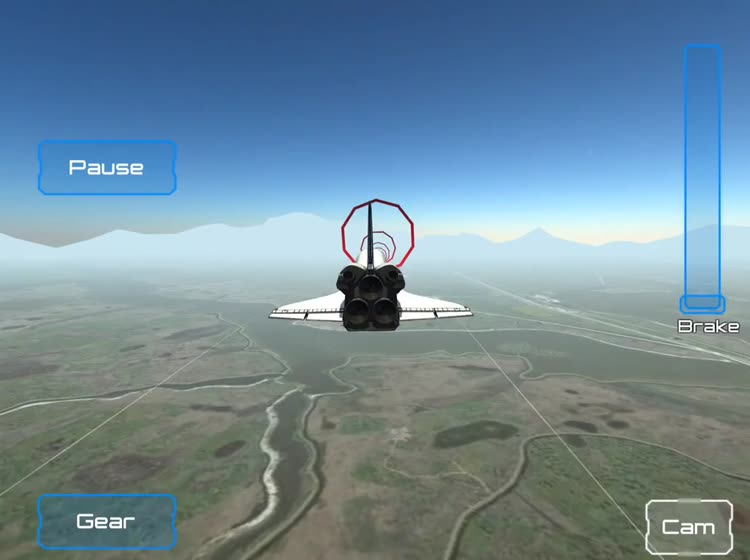 space shuttle landing simulator pc - photo #20