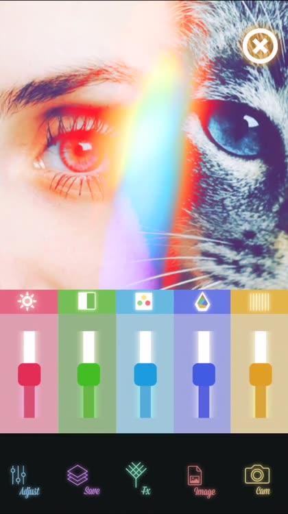 boho - lens flare effects vhs filter preset chroma key